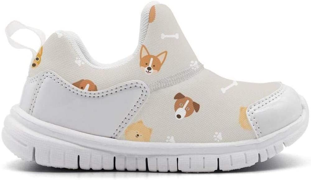 ONEYUAN Children Dog and cat pet Lovers Kid Casual Lightweight Sport Shoes Sneakers Running Shoes