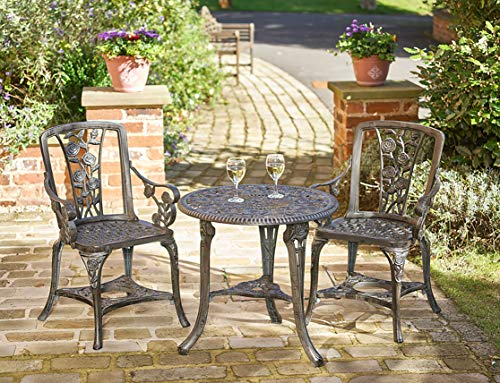 Gablemere-2-Seater-Plastic-Rose-Design-Patio-Set-with-Round-Bistro-Table-in-Gun-Metal-Grey-Finish