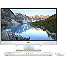 "Dell i3477-3666GLD-PUS Inspiron 24 3477 All-in-One-23.8"" Anti-Glare- Touch - Intel i3- 8GB Memory- 1 TB SATA HD-IntelR HD Graphics 620, Gold 3-in-1 Media Card Reader"