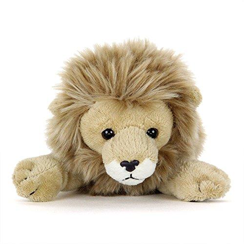 [해외]カロラ?タ 사자 박제 된 동물 (ねそべり 시리즈) 15cm×9cm×25cm / Carolata Lion Plush Animal (Nesobere Series) 15cm x 9cm x 25cm