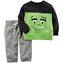 Carter's Baby 2 Piece Frankenstein Top and Pants Set