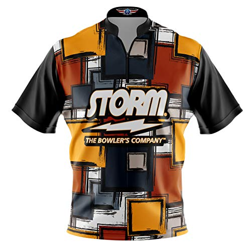 Logo Infusion Bowling Dye-Sublimated Jersey (Sash Collar) - Storm Style 0367 - Sizes S-3XL (L) ()