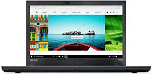 "Lenovo ThinkPad T470 Laptop with Intel Core i5-6300U Processor, 8GB DDR4 RAM, 180GB SSD, Black - 14"" - Black"
