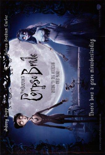 Tim Burton cadáver Bride cartel Póster (11 x 43,18 cm - 28 ...