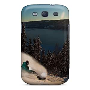 SGZ51080CyhL Cases Covers Protector For Galaxy S3 Snowboarder Cases