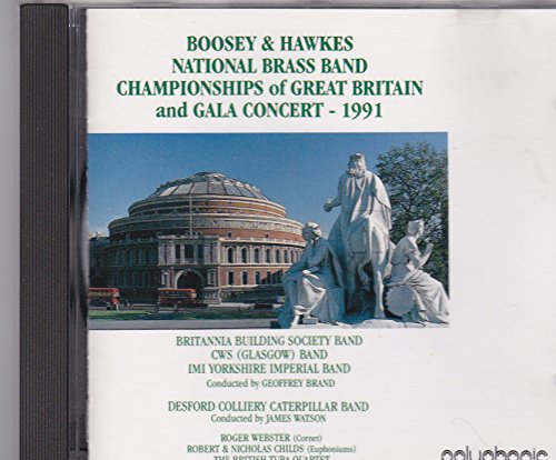 - Boosey & Hawkes National Brass Band Championships of Great Britain and Gala Concert - 1991