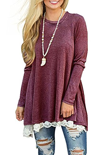 Layered Lace Top - 5