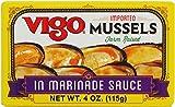 Vigo Mussels, 4 Ounce (Pack of 10)