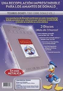 Tesoros Disney: Todo sobre Donald (Vol. 2) [DVD]