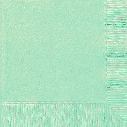 Mint Beverage Napkins, 20ct