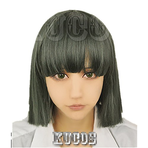 Mzcurse Spirited Away White Dragon Haku Nigihayami Kohakunushi Green Cosplay Wig