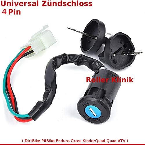 Universal Z/ündschloss f/ür Quad ATV Bashan Shineray Eagle Lyda Jinling