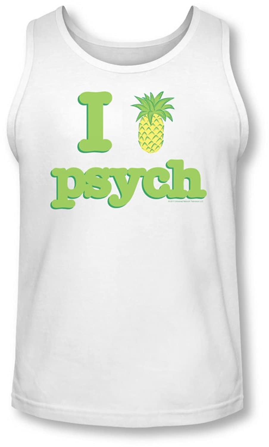 Psych - Mens I Like Psych Tank-Top