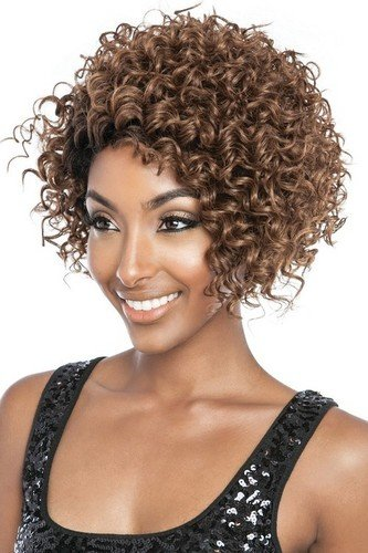 Mane Concept Brown Sugar Signature Part? Lace Front Wig EBONY BSS 204 (F4/27/30 - Medium Brown/Honey Blonde/Light Auburn Mix)