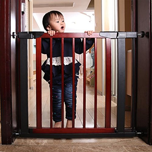 Fairy Baby Infant Decorative Wood & Metal Extra Wide Walk Thru Gate,Fit Spaces 54.33''-57.09'' by Fairy Baby (Image #4)
