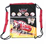 Disney Cars Lightning Mcqueen Drawstring Backpack Bag