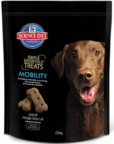 Hill's Science Diet Simple Essentials Adult Mobility Large Biscuit Treats with Real Chicken - 28.2-Ounce Bag (Pack of 8) by Hill's Pet Nutrition