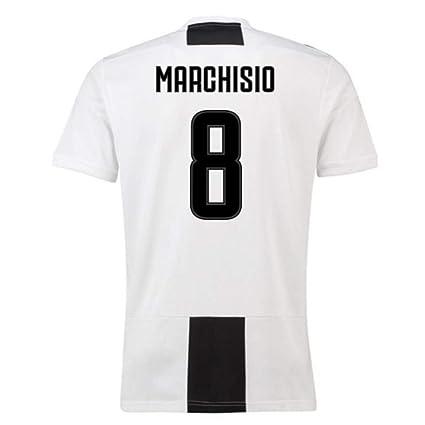 low priced 7a4d7 014b9 Amazon.com : 2018-19 Juventus Home Football Soccer T-Shirt ...