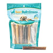 #LightningDeal 96% claimed: 100% Natural Bully Sticks by Best Bully Sticks (8oz. Bag)