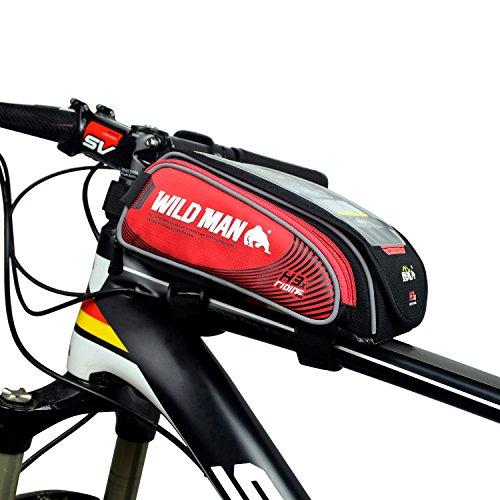 WILDMAN Bicycle Frame Pannier Waterproof