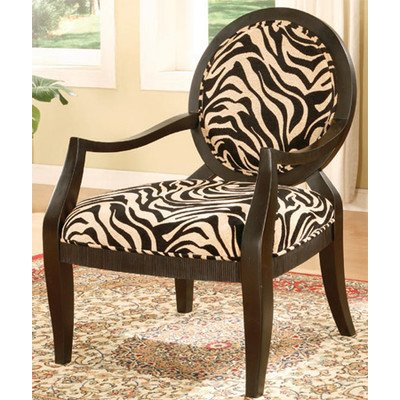 Zebra Accent Chair - 4