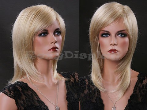 (WG-ZL349A-613E) Female Wig Mannequin Head Hair for Mannequin