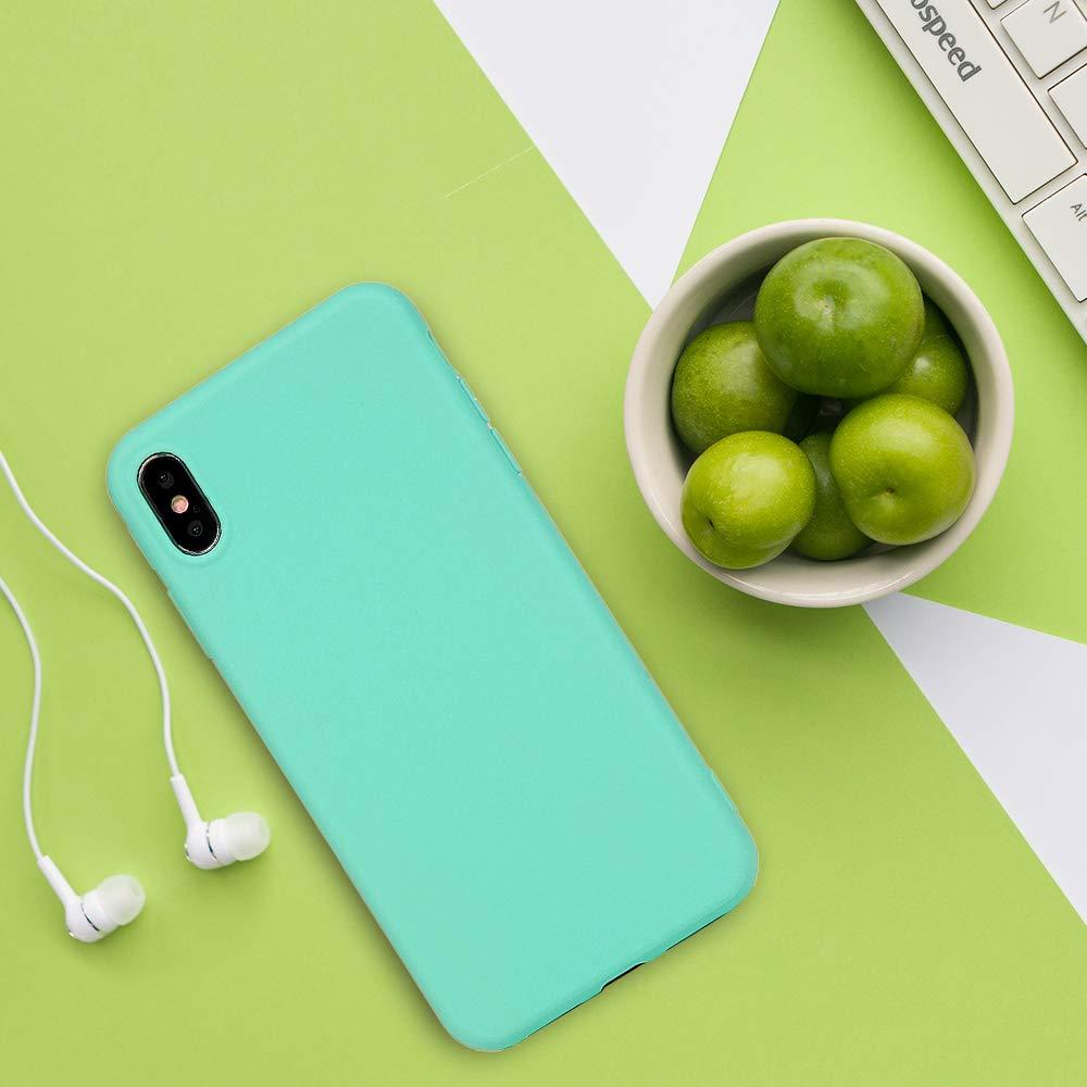 Mlorras iPhone XS Max H/ülle Weich Flexibel Silikon TPU Schutzh/ülle Bumper Anti-Kratzer Sto/ßfest Smartphone Handyh/ülle Abdeckung Case Perfekte Passform Wei/ß