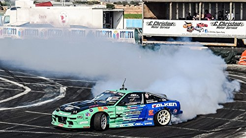 Home Comforts Laminated Poster Drift Race Car Sport Fast Speed Racing Drifting Poster Print 24 x 36