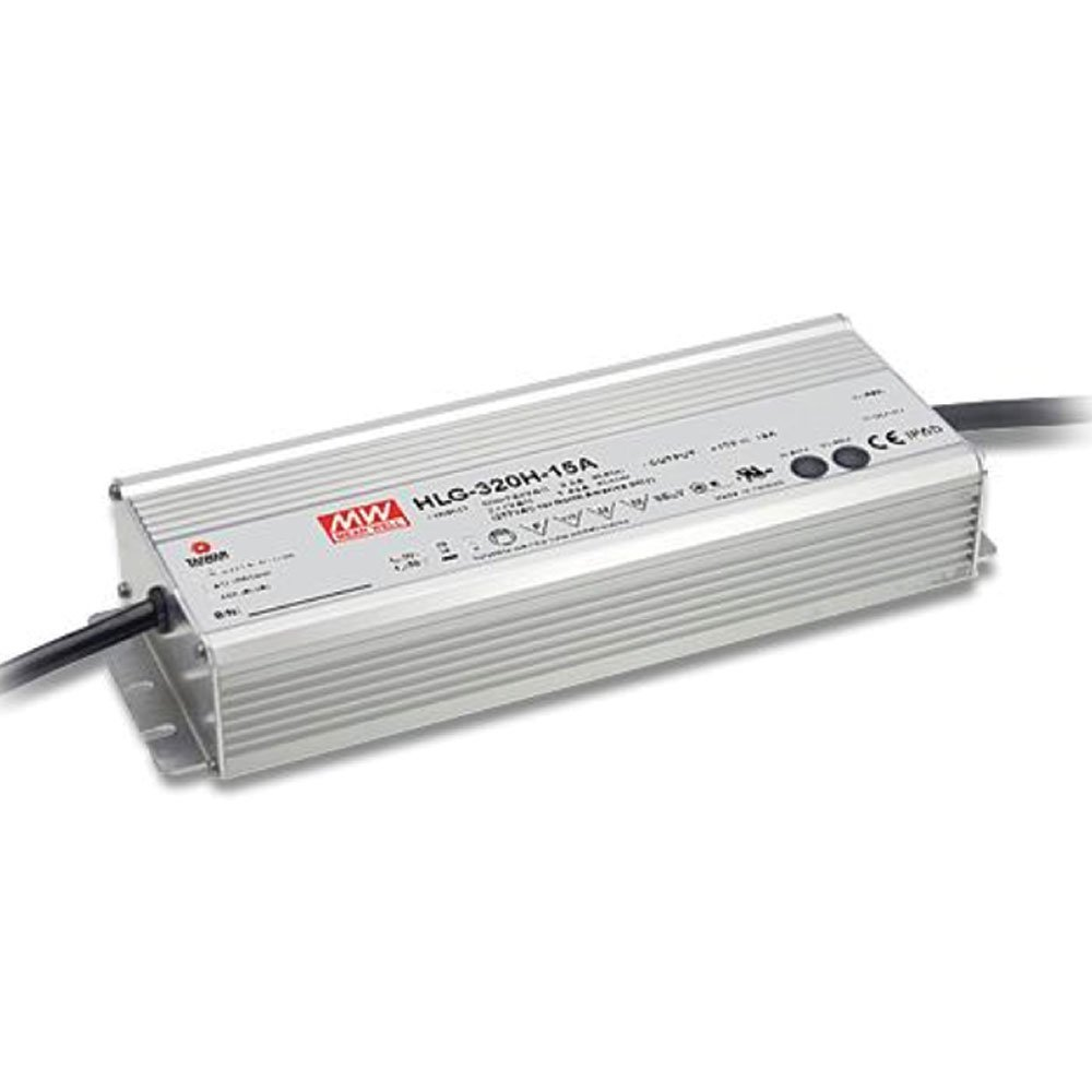 MEAN WELL HLG-320H-24A 24V 13.34 Amp 320W Switching LED Power Supply -