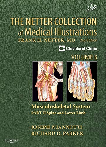 The Netter Collection of Medical Illustrations: Musculoskeletal System, Volume 6, Part II - Spine and Lower Limb (Netter