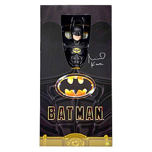 Michael Keaton Autographed NECA 1:4 Scale Batman Action Figure