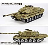 07debaff409c Heng Long Challenger 2 RC British 1 16 2.4G MBT Tank Desert - Platinum