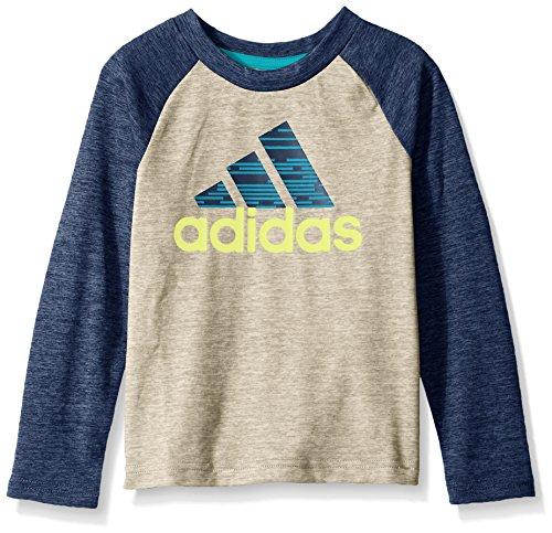 adidas Boys' Core Graphic Long Sleeve Tee