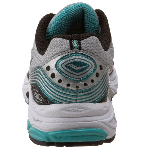 Saucony Womens Grid Fusion 3 Running Shoe Silver/Black/Green yABst