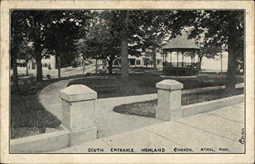 South Entrance, Highland Common Athol, Massachusetts Original Vintage