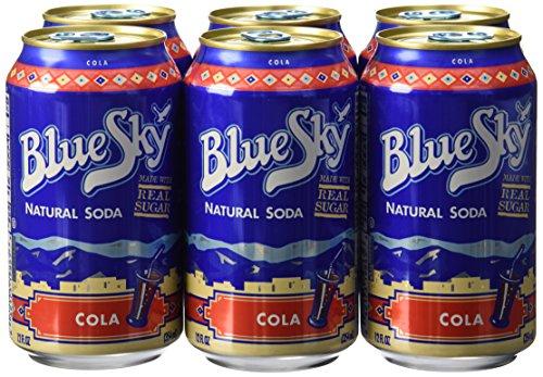 Blue Sky, Natural Soda, Cola, 6  ct, 12 oz each