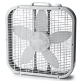 Lasko 3733 Box Fan, 3-Speed, 20-Inch, White