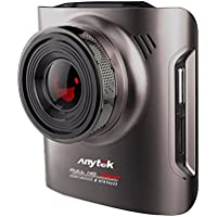 Dashboard Camera, Anytek A3 Car Dash Cam Recorder FHD 1080P, Wide-Angle, Built-in G-Sensor, WDR Loop Recording, Night Mode