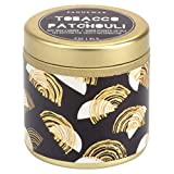 Paddywax Kaleidoscope Collection Travel Tin Candle, Tobacco Patchouli