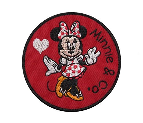 Minnie Mouse and Company High Stepping Cartoon Inspired Iron on Patch