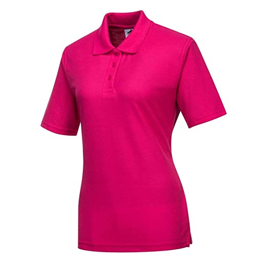Portwest B209PIRS - Ladies polo shirt color: pink talla: small ...