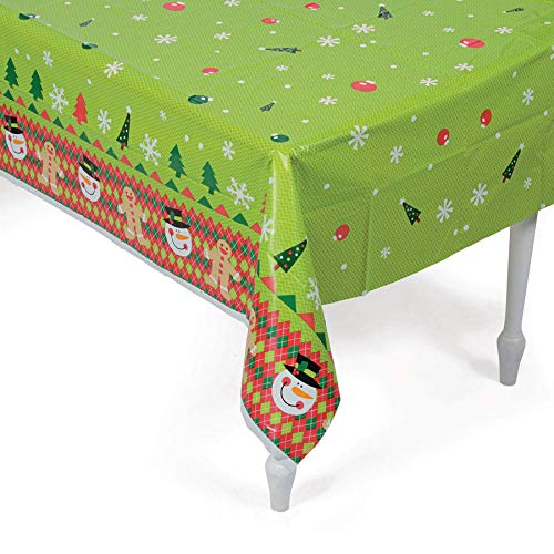 Fun Express Ugly Sweater Plastic Tablecover (1) -