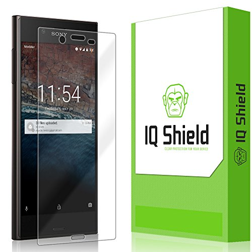 IQ Shield Screen Protector Compatible with Sony Xperia XZ LiquidSkin Anti-Bubble Clear Film