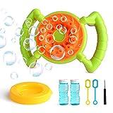 CANI Bubble Machine Portable Automatic Bubble Blower with 2 Bottles of Bubbles Solution,Durable