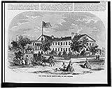 Photo: Photo,United States Branch Mint,New Orleans,Louisiana,LA,1858,American Flag