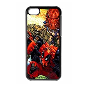 iPhone 5C Phone Case Deadpool Marvel Comic Superhero AL390165