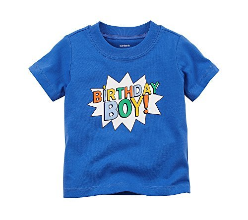 Carter's Baby Boys' Birthday Boy Tee 12 Months for $<!--$0.50-->