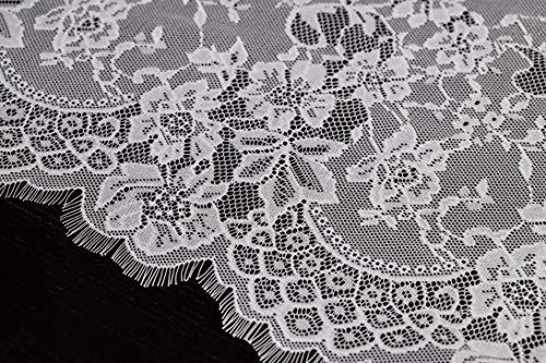 Buy vintage embroidered linen table runner