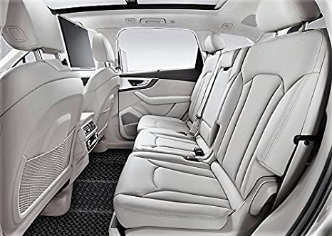 Heavy Duty - Made in USA All Weather ToughPRO Floor Mats Set - Black Rubber Front Row + 2nd Row 2018 2017 2019 Compatible with Honda CR-V