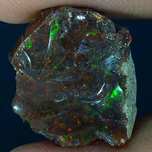 Phantom Flash - dadu_creation 100% Natural Ethiopian Welo Rough Opal Phantom Flash Colors (untreated) DADU-157